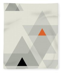 Geometric Painting 15 Fleece Blanket