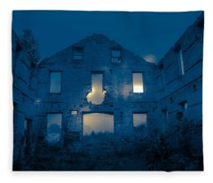 Ghost Castle Fleece Blanket