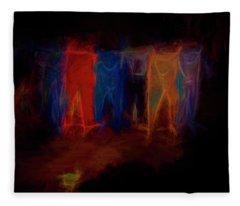 Ghost Wash Fleece Blanket