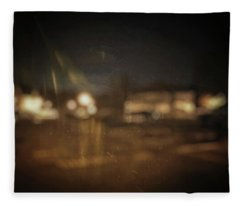 Fleece Blanket featuring the photograph ghosts I by Steve Stanger