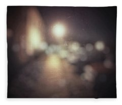 Fleece Blanket featuring the photograph ghosts III by Steve Stanger