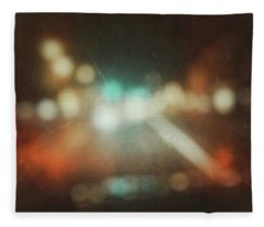 Fleece Blanket featuring the photograph ghosts V by Steve Stanger
