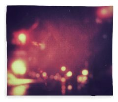 Fleece Blanket featuring the photograph ghosts VI by Steve Stanger