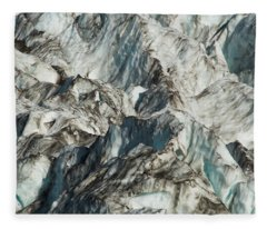 Glacier Ice 1 Fleece Blanket