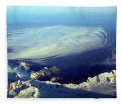 Glacier Pushes Out Fleece Blanket