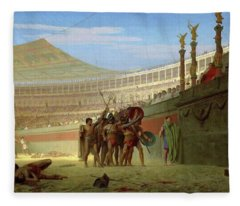 Ave Caesar, Morituri Te Salutant  - Digital Remastered Edition Fleece Blanket