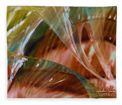Glass Blowing Dance Fleece Blanket