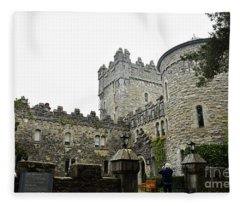 Glenveagh Castle Front Fleece Blanket
