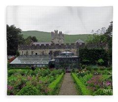 Glenveagh Castle Gardens Fleece Blanket