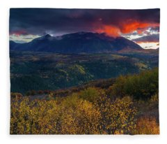 Glimpse Of Heaven Fleece Blanket