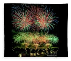 Global Fest Light Show Fleece Blanket