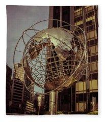 Globe 2 Fleece Blanket