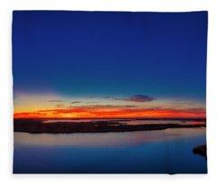 Glorious Dawn Fleece Blanket