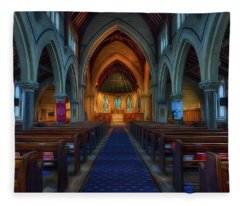 Gods Church Fleece Blanket