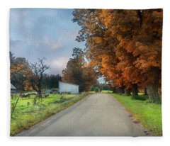 Going Up The Country Fleece Blanket