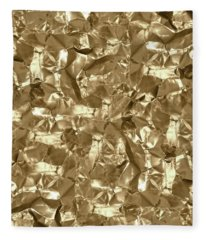 Gold Best Gift  Fleece Blanket