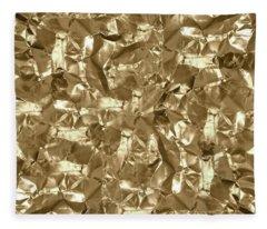 Gold Best Gift  Fleece Blanket
