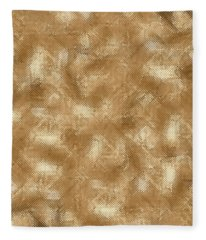 Gold Metal  Fleece Blanket