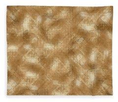 Gold Metal  Fleece Blanket