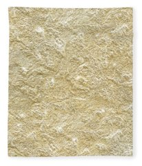 Gold Stone  Fleece Blanket