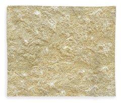 Gold Stone  Fleece Blanket
