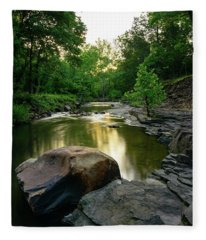 Golden Creek Fleece Blanket
