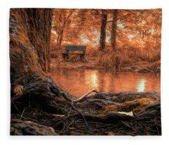 Golden Creek Vision Fleece Blanket
