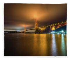 Golden Gate Bridge Fleece Blanket