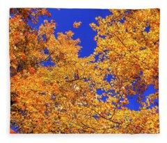 Golden Oaks Fleece Blanket