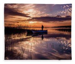 Golyazi Lake Fleece Blanket