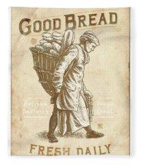 Good Bread Fleece Blanket