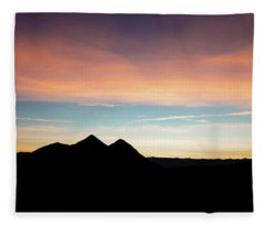 Goodnight Death Valley Fleece Blanket