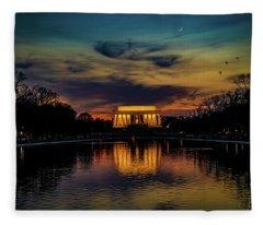 Goodnight Washington Fleece Blanket
