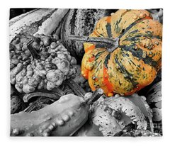 Gourds Fleece Blanket