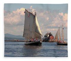 Grace Bailey Fleece Blanket