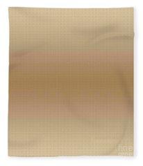 Gradient G16 Light Brown Fleece Blanket