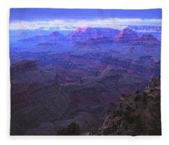 Grand Canyon Twilight Fleece Blanket