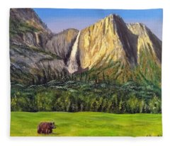 Grandeur And Extinction Fleece Blanket