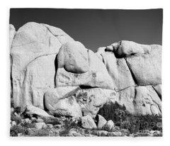 Granite Face Fleece Blanket