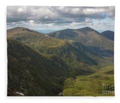 Great Gulf Wilderness - White Mountains New Hampshire Fleece Blanket