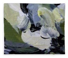 Green #2 Fleece Blanket