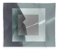 Green Gehry Fleece Blanket