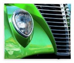 Green Machine Fleece Blanket