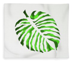 Green Monstra Fleece Blanket