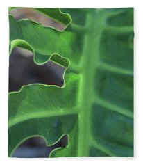 Green Space Fleece Blanket