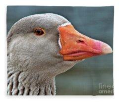 Grey Goose Fleece Blanket