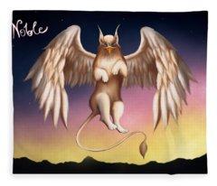 Griffin Fleece Blanket