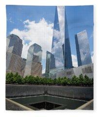 Ground Zero - Freedom Tower 1 Fleece Blanket