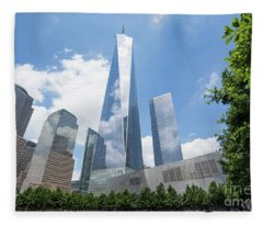 Ground Zero - Freedom Tower 2 Fleece Blanket