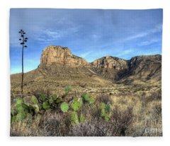 Guadalupe Desert Fleece Blanket